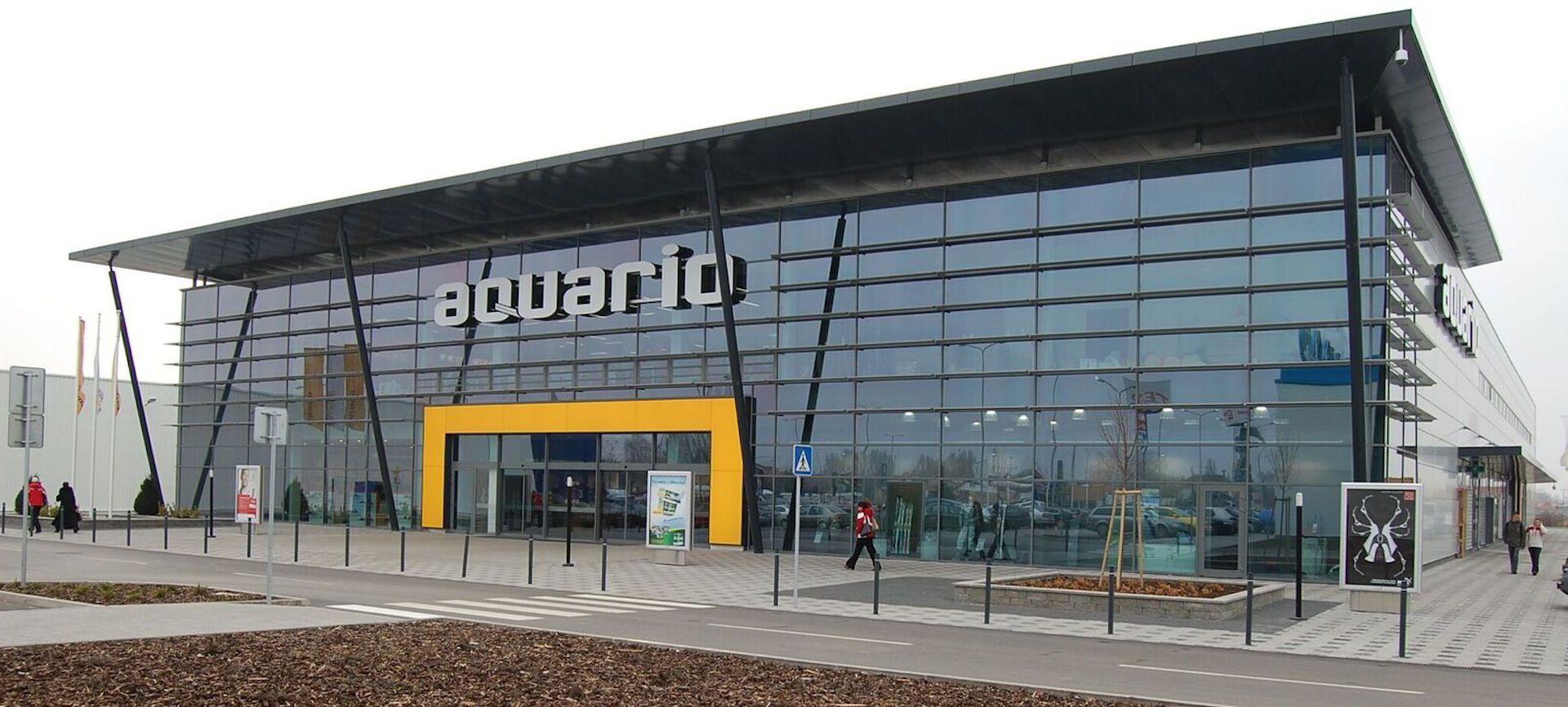 Nákupné centrum AQUARIO Nové Zámky