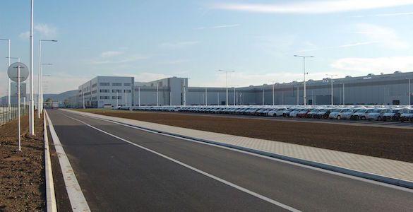 Priemyselná hala pre výrobu automobilov
