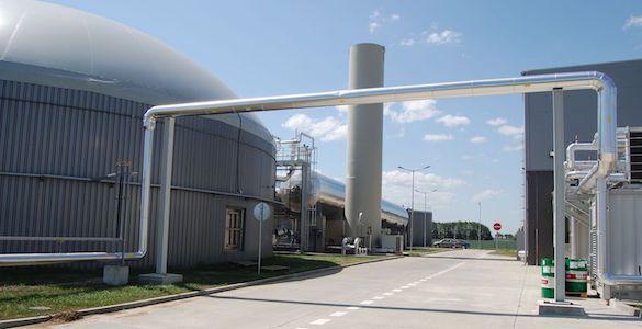 Stavba v areáli elektrárne